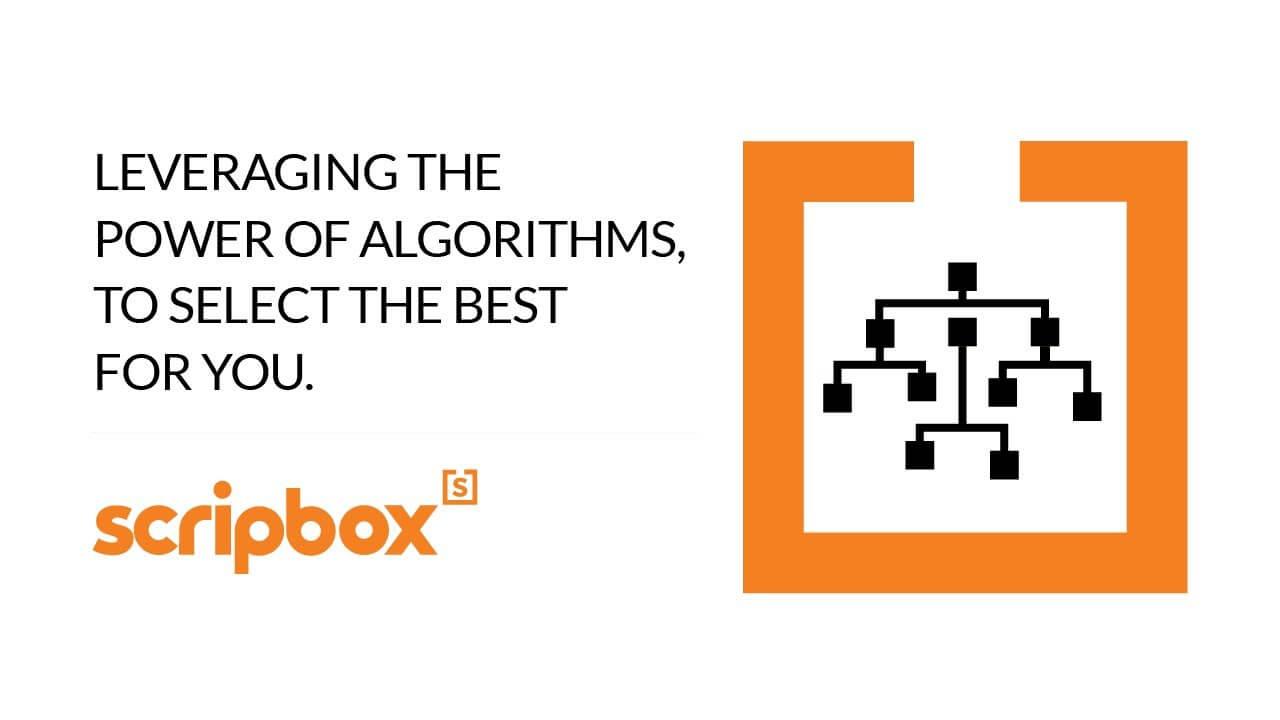 Algorithmic product selection video thumbnail